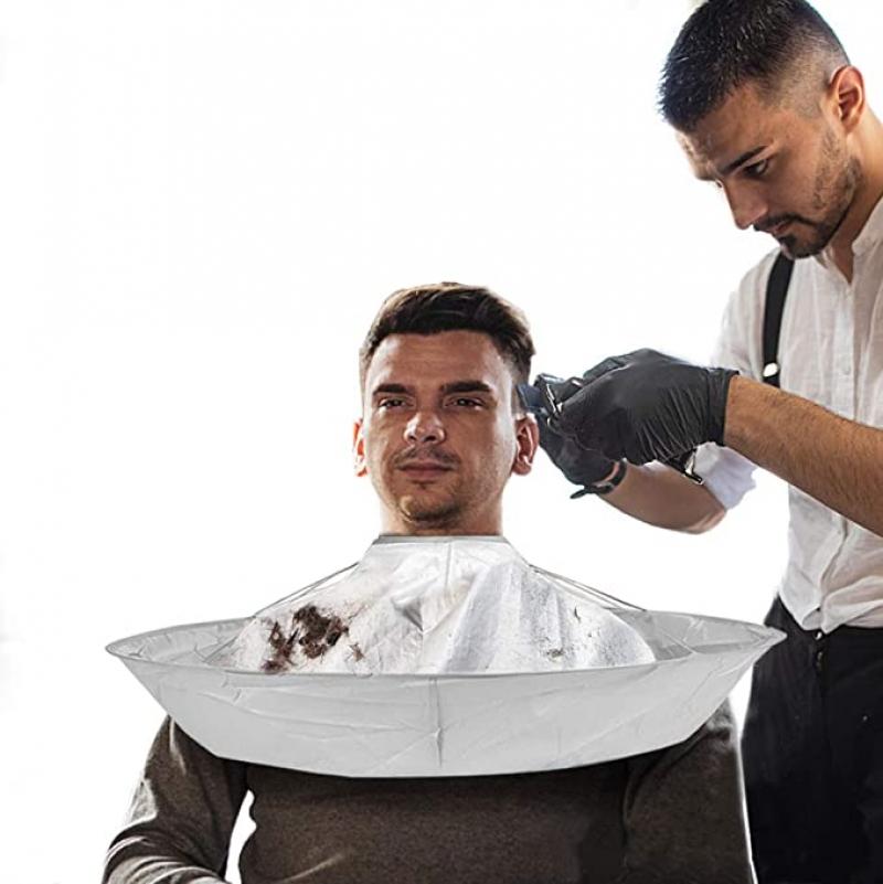 ihocon: EFLY Hair cutting cape barber Cape umbrella for men women 理髮圍兜