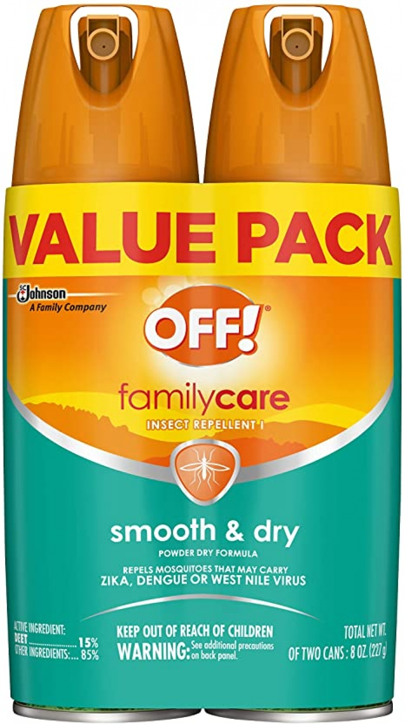 ihocon: OFF! Family Care Insect & Mosquito Repellent 4 oz. (Pack of 2) 驅蚊/驅蟲噴霧