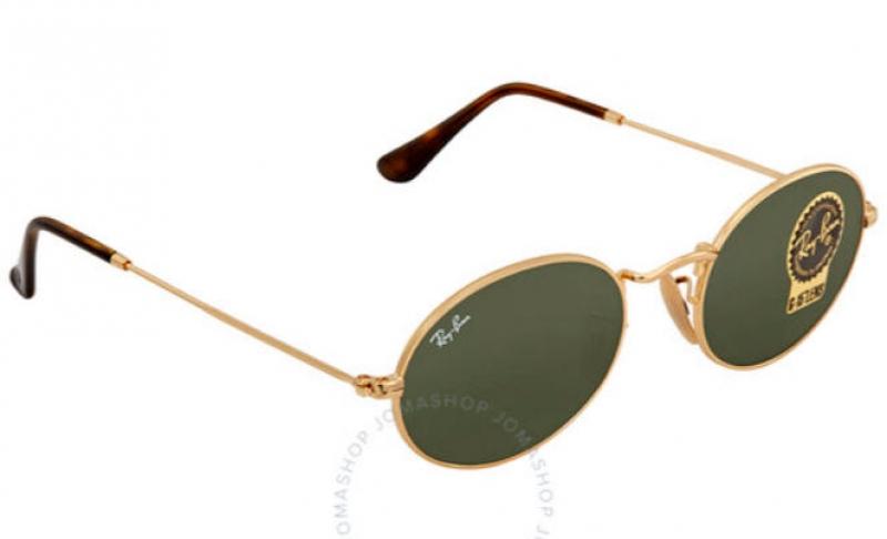 ihocon: Ray-Ban Green Classic G-15 Oval Sunglasses太陽眼鏡