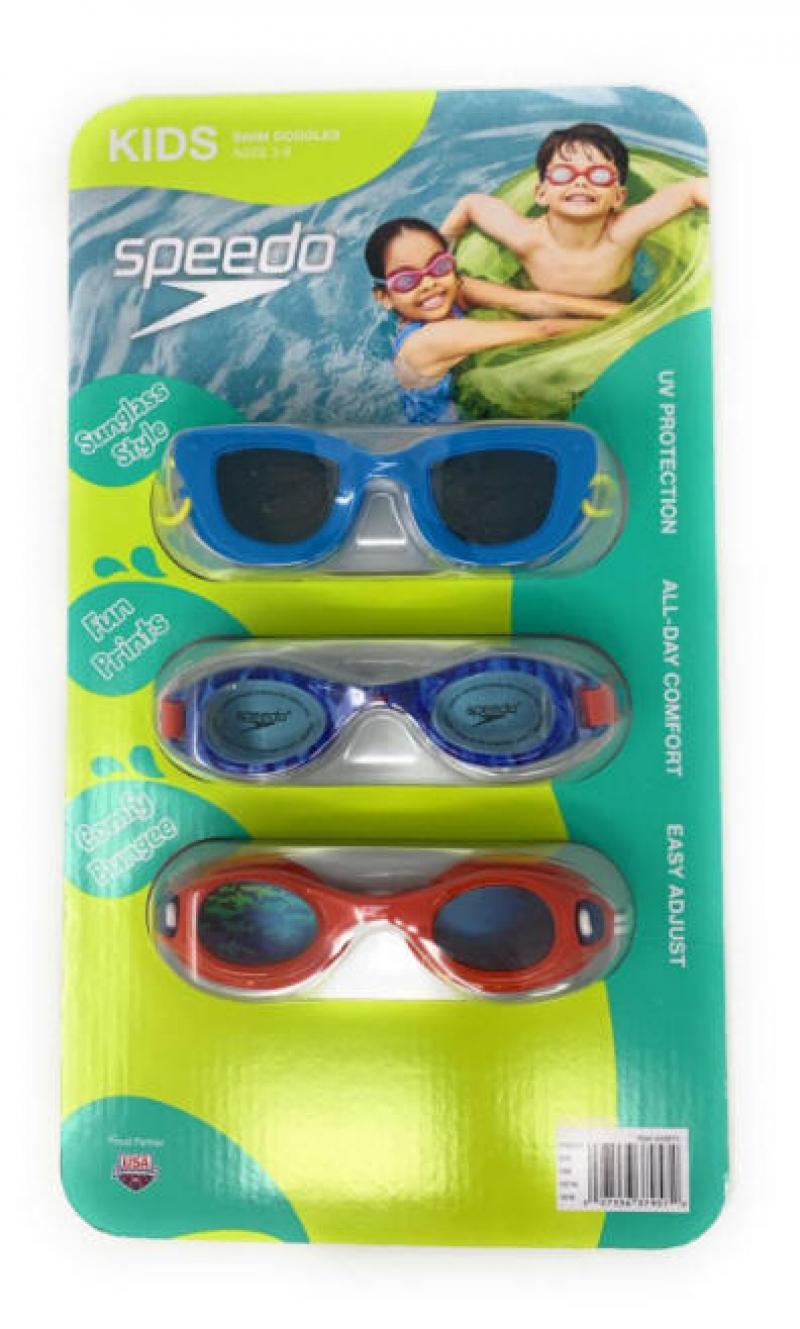 ihocon: Speedo Kids Swim Goggles 3 pack  兒童泳鏡3副