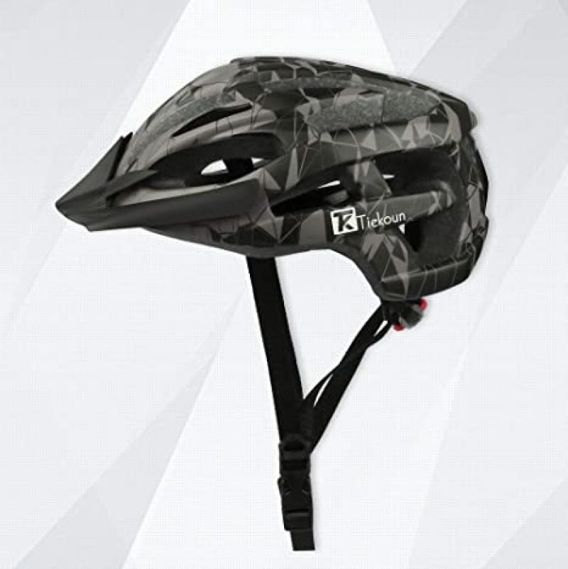 ihocon: Tiekoun Safety Breathable Lightweight Bike Cycling Helmet 成人自行車安全頭盔(Size:M)