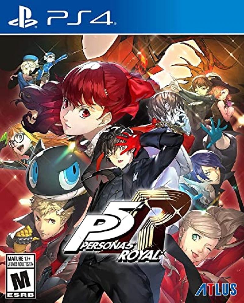 ihocon: PlayStation 4 遊戲 - Persona 5 Royal: Standard Edition