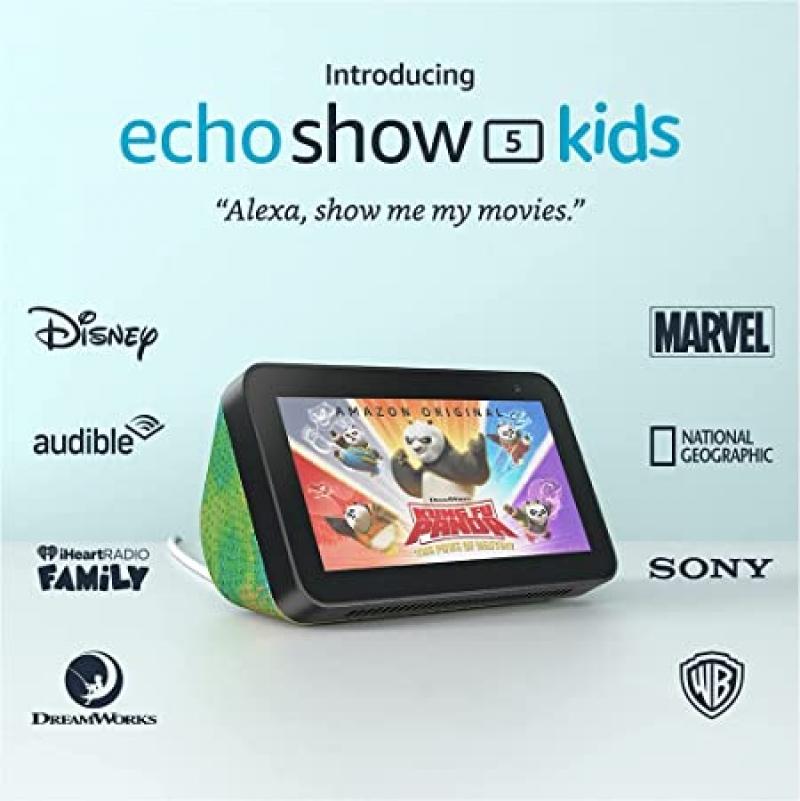 ihocon: [專為兒童設計] Echo Show 5 (2nd Gen) Kids