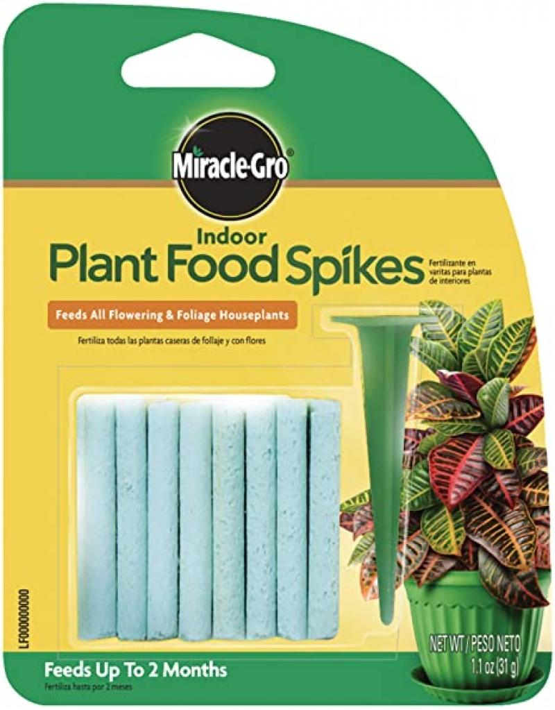 ihocon: Miracle-Gro Indoor Plant Food Spikes, 24 Spikes 室內植物肥料棒