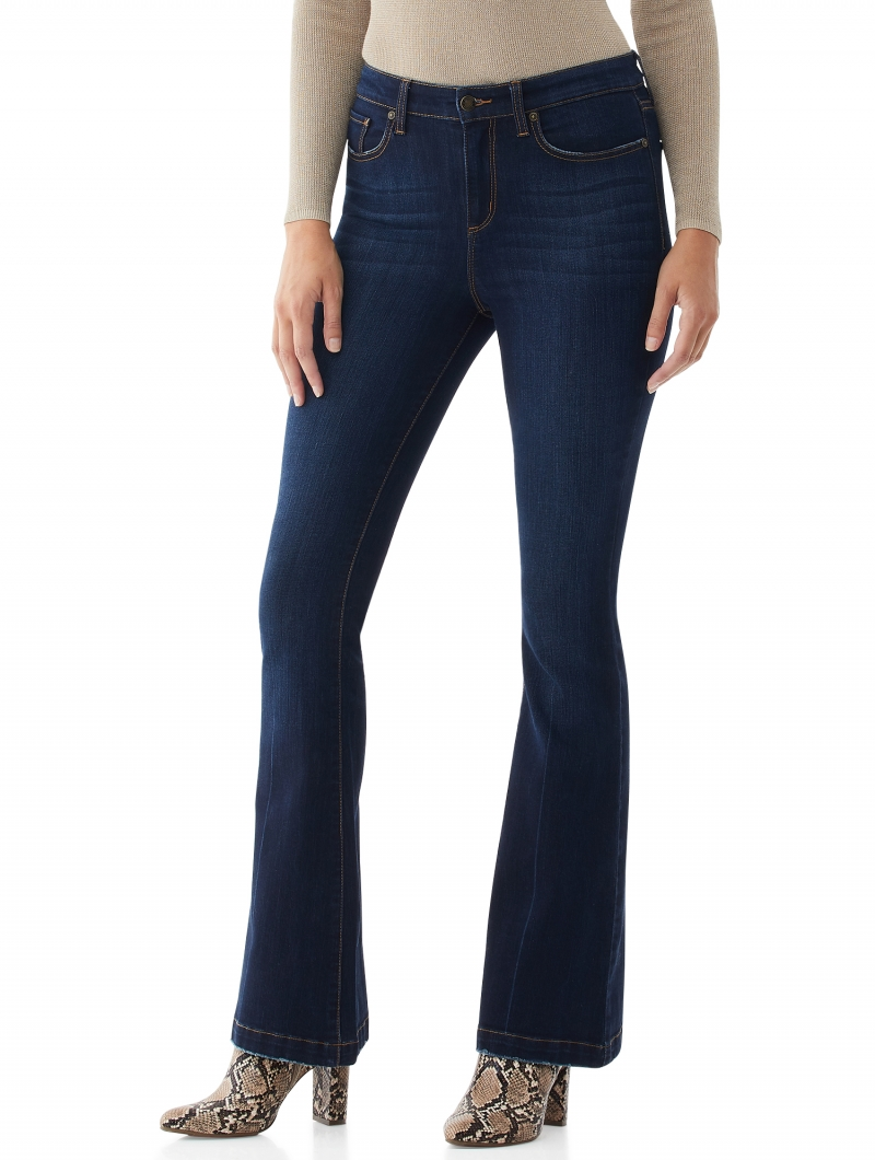ihocon: Scoop Women's High-Rise Flare Jeans  女士高腰牛仔褲