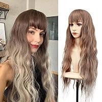ihocon: Akkya Long Blonde Wigs 假髮
