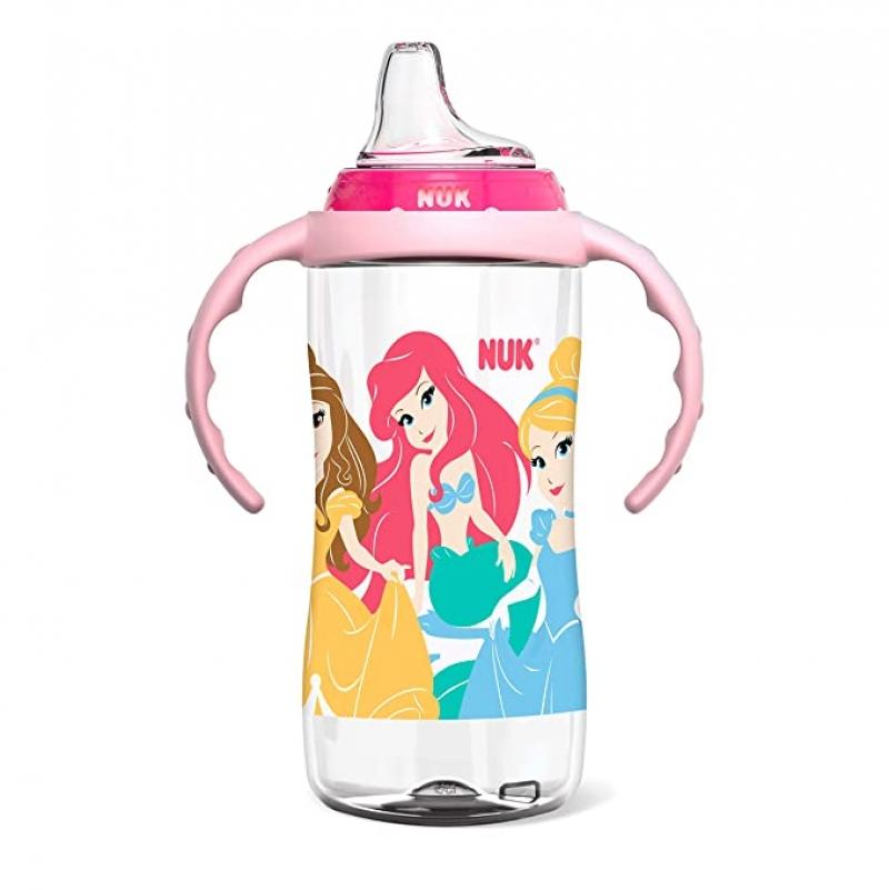 ihocon: NUK Disney Learner Cup, 10 Oz, Princess, 8+ Months  迪士尼公主幼兒喝水學習水杯