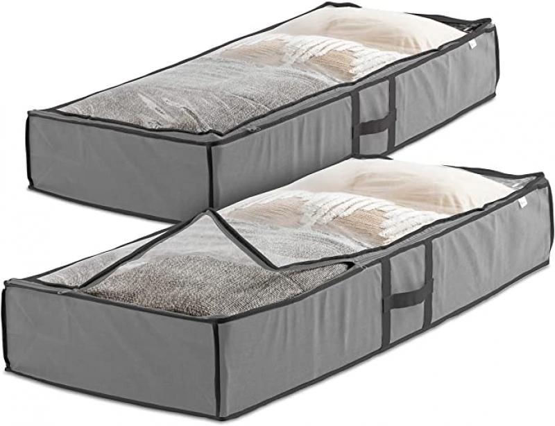 ihocon: Underbed Storage Bag Organizer (2 Pack) 床下儲物袋