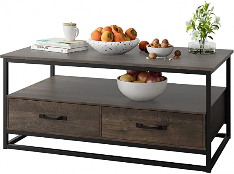 """ihocon: URKNO Coffee Table for Living Room, 43"""" 客廳茶几"""