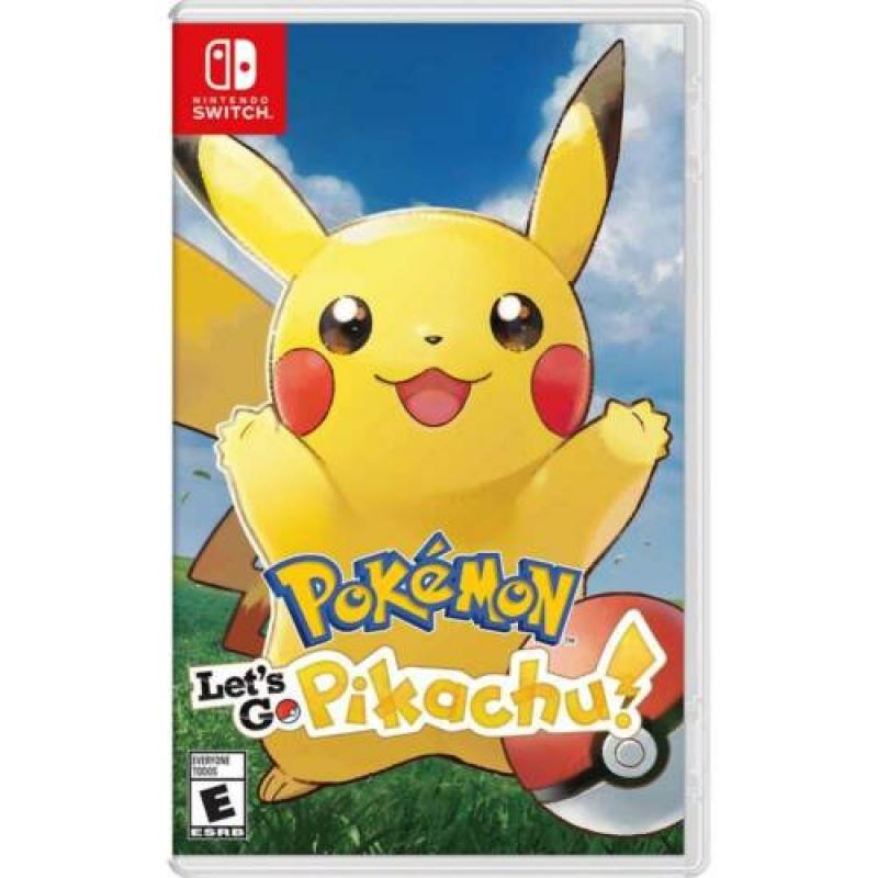 ihocon: Nintendo Switch 遊戲 - Pokmon: Let's Go, Pikachu!