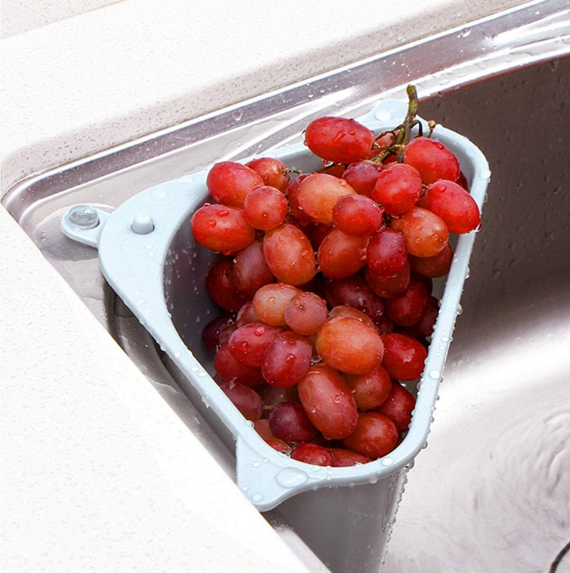 ihocon: Alphatool 2pcs Triangle Sink Storage Holder 水槽角落瀝水架2個