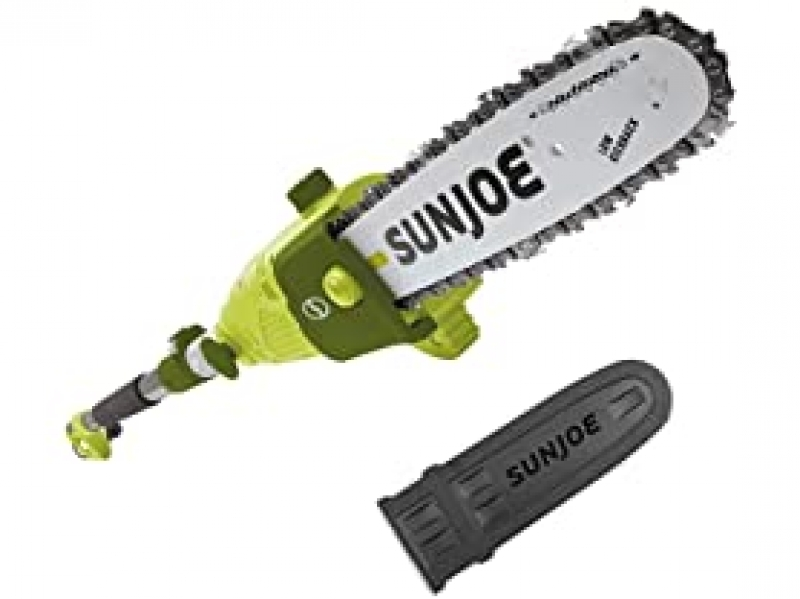 ihocon: Sun Joe SWJ803E 10-inch, 8 Amp Electric Multi-Angle Chain/Pole Saw 長桿電鋸