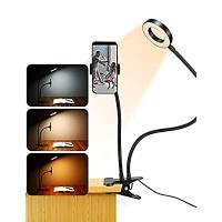 ihocon: ZAZZIO Selfie Ring Light for Phone 夾式自拍手機固定加及環形補光燈