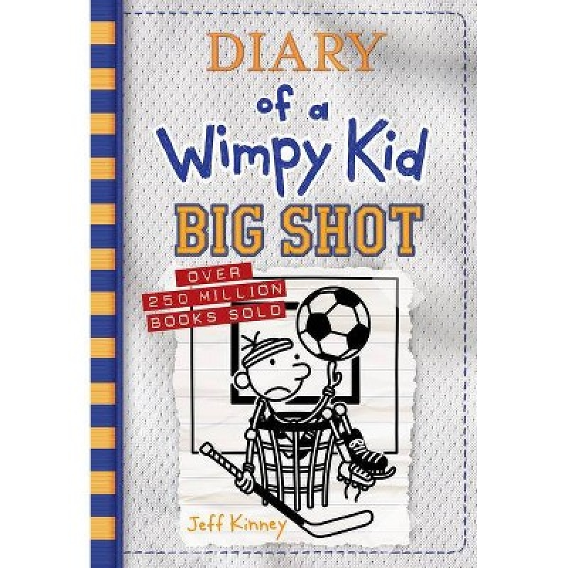 ihocon: Diary of a Wimpy Kid: Book 16 - by Jeff Kinney (Hardcover精裝木)