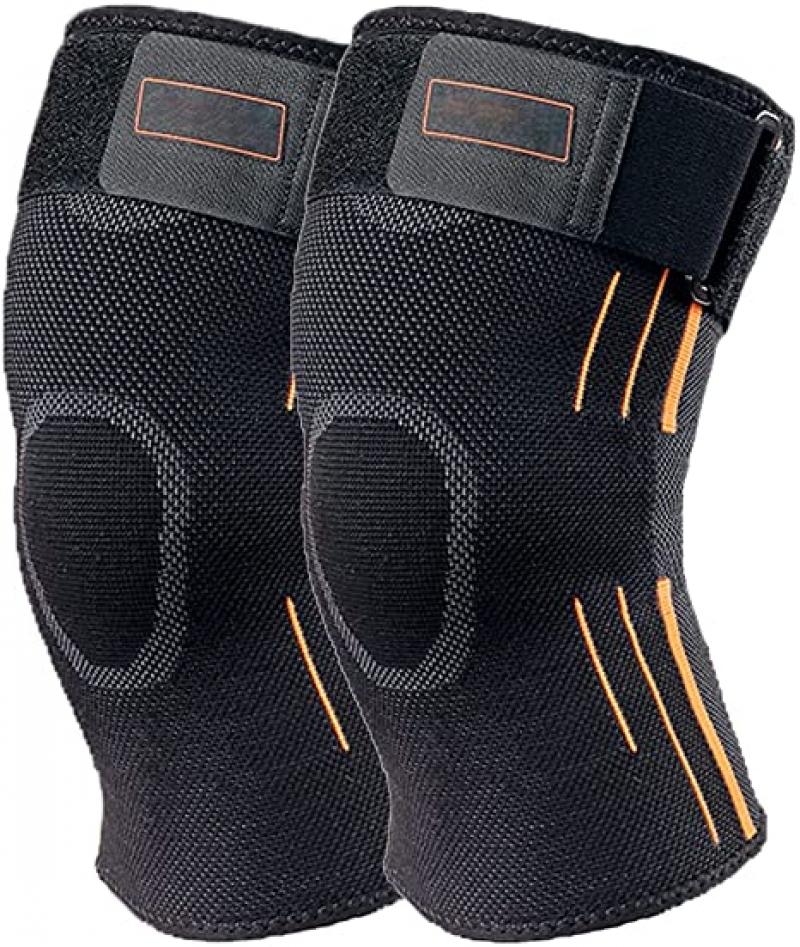 ihocon: Jaffick Knee Support Men Compression Sleeve 男士護膝一副