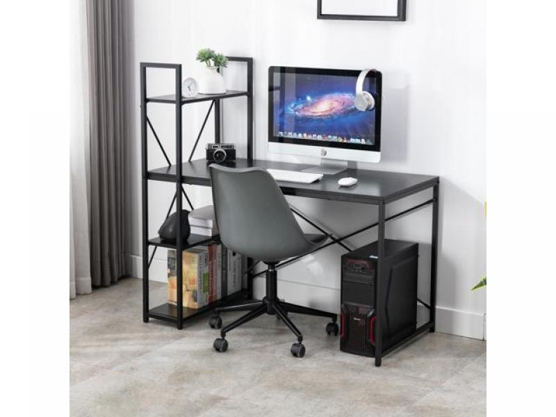 ihocon: Bonzy Home Study Computer Desk 47 Home Office Student Writing Small Desk 電腦桌