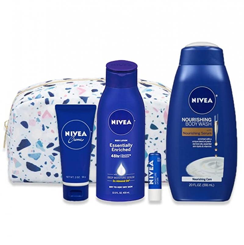 ihocon: NIVEA Skin Care Set for Her 4 Piece Gift Set, 35.67 Fl Oz  護膚套裝