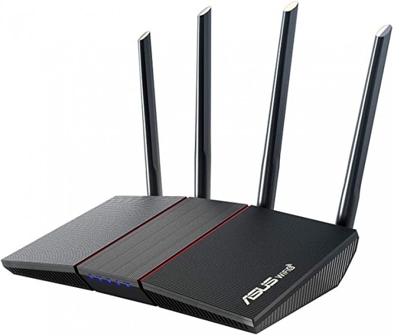 ihocon: ASUS AX1800 WiFi 6 Router (RT-AX55) - Dual Band Gigabit Wireless Router 雙頻路由器