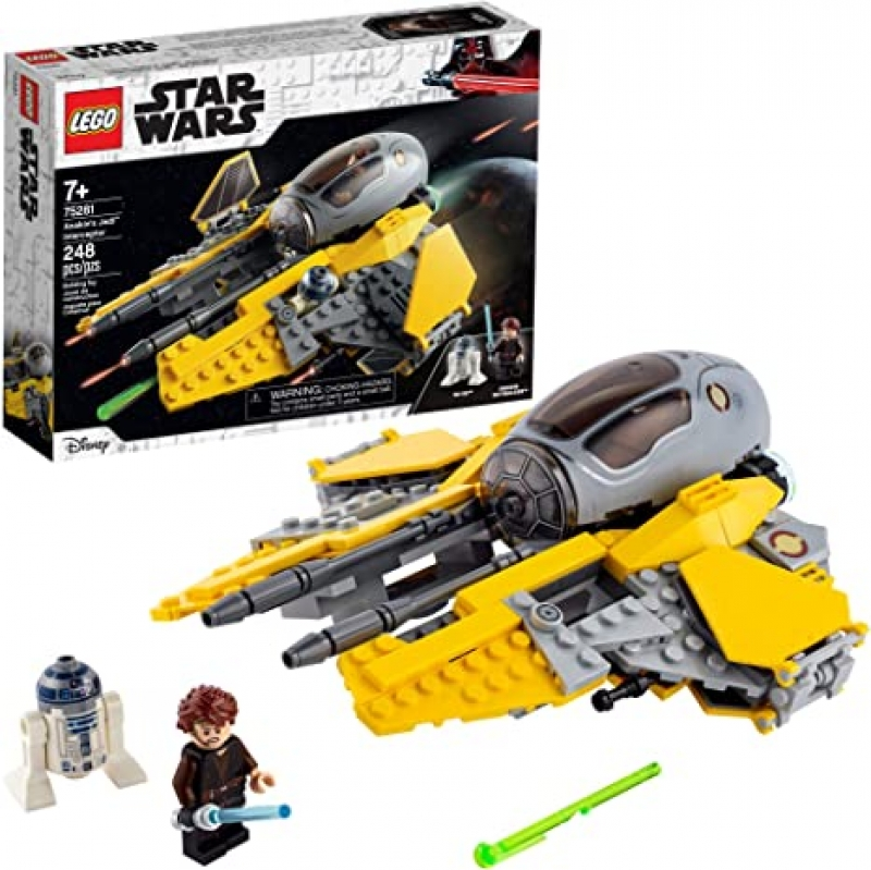 ihocon: 樂高星球大戰積木LEGO Star Wars Anakin's Jedi Interceptor 75281 Building Toy (248 Pieces)