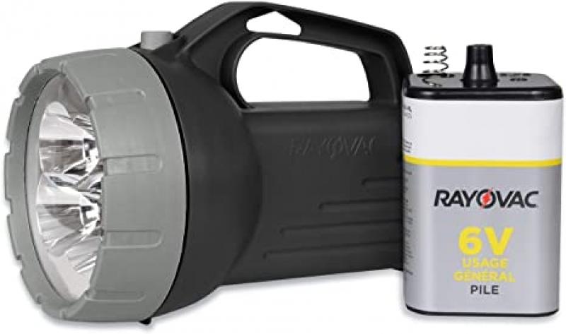 ihocon: RAYOVAC Floating LED Lantern Flashlight, 6V Battery Included 手提代手電筒,附電池