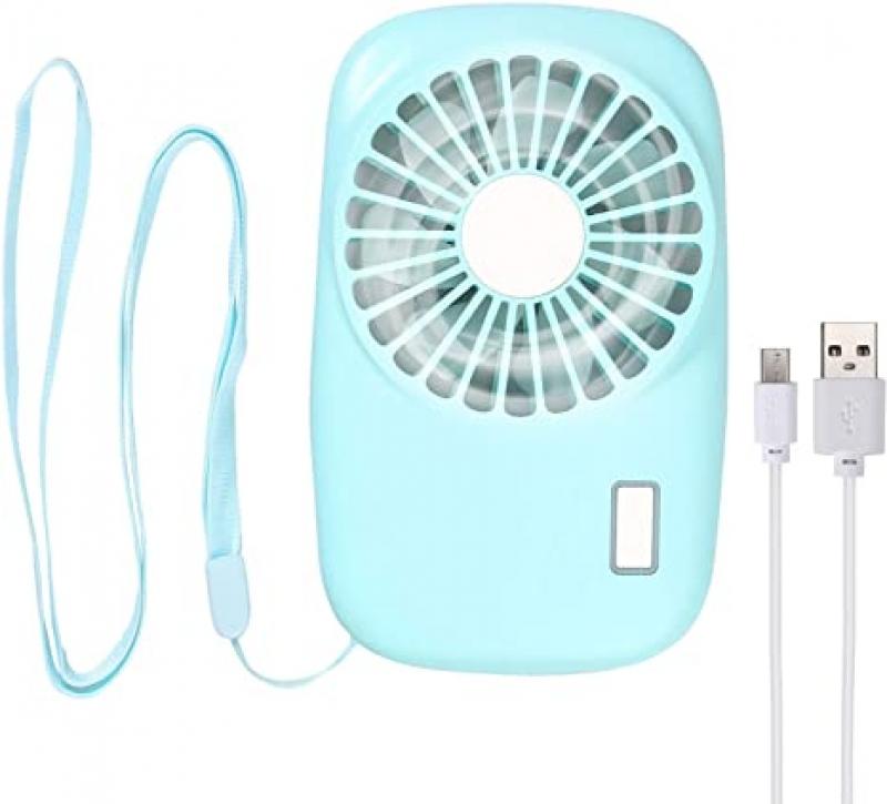 ihocon: LiNKFOR Necklace Fan Mini Handheld Fan 充電式迷你小風扇